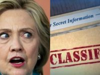 "Hillary Forced Into This INSANE Lie- ""I Thought the Classified Marking Actually Meant…"""