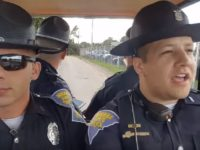 State Troopers Drive Around In Golf Cart, What They Do Next Has Set The Internet On FIRE! (Video)