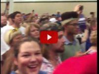 VIDEO: Entire TRUMP Rally Crowd Sends CNN BLISTERING 3-Word Message After Spotting Camera Man…