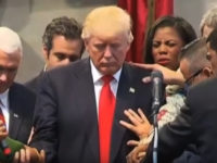 WATCH As Evangelicals Surround Trump To PROTECT Him From Satanic ATTACK, What Happens Next Is Amazing
