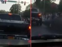 Country Boys Drive Through BLM Protesters, Blast THUGS With a NASTY Surprise Right To The FACE (VIDEO)
