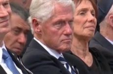 Internet ERUPTS After People Notice SICK Thing Bill Clinton Did To JEWS During Funeral For Israeli President