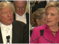 WATCH: Trump Says The ONE Thing That Has Hillary FREAKING OUT At Al Smith Dinner- Crowd ERUPTS
