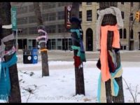 If You See A Scarf Tied To A Tree Around Town This Holiday – Here's What It Means