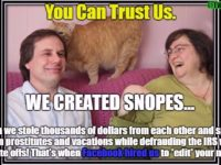 New Info Surfaces Showing Snopes CEO Hires Prostitutes And Doesn't Pay Taxes- SPREAD THIS 😁