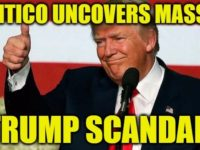 Day Before Christmas, Politico Uncovers MASSIVE Trump Scandal- There's Just One HUGE Problem…
