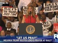 Look Who Just SLAMMED Liberals For Attacking Melania's Lord's Prayer [VID]