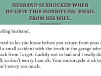 Husband Is Stunned When He Gets This Email From His Wife… This Is Pure GOLD!