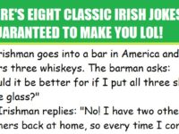 Eight Great Irish Jokes That Will Make You LOL!