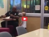 Kid Spots Cop Eating Alone In Diner, Walks Up And Gives Him Something He'll NEVER Forget