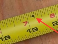 [Video] Ever Wonder What This Mysterious Diamond Is On Your Tape Measure? Here's What It Means