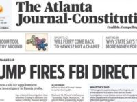 COMEY'S GONE!