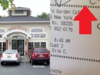 N.J. Restaurant Wishes No One Saw What They Wrote On Cop's Receipt- You Will LOVE What Happens Next