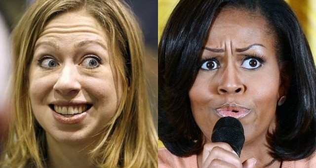 OOPS! Chelsea Clinton Accidentally DESTROYS Michelle Obama