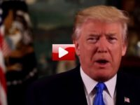 WATCH: President Trump Delivers Weekly Address- STUNS America With What He Slipped In [FLASHBACK]