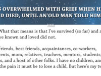 He Was Grieving Over The Death Of His Best Friend, Until An Old Man Told Him THIS