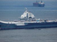 China's aircraft carrier Liaoning departs Hong Kong  (Reuters)