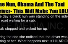 The Nun, Obama And The Taxi Driver- This Will Make You LOL!!!