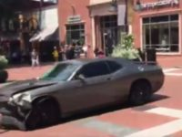 WATCH As Car Plows Down Crowd At ANTIFA RIOT,  1 DEAD Multiple Injured