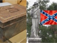 WHOA! 100 Year Old Confederate Time Capsule Found In Florida- LOOK What Was Found In It
