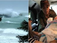 Florida Woman Delivers Her Own Baby During Hurricane Irma- Look What They Named Her!