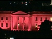The White House Is Glowing Pink Tonight… Here's The STUNNING Reason Why