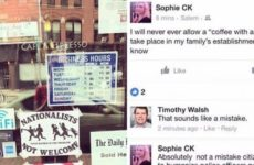 BOOM! Anti- Conservative Restaurant CLOSES After Disgusting Facebook Post Emerges… SPREAD THIS!