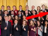 America Stunned After People Notice HIDDEN Message In White House Intern Photo