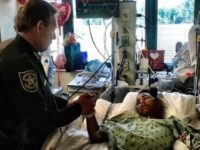 "FLORIDA: Broward County Sheriff Visits Shooting Victim, Leaves Something ""Special"" Behind"