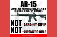 BREAKING: Court Rules To BAN AR15's