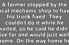 A Farmer Met A Sweet Old Lady While Walking Home. He Never Expected This.
