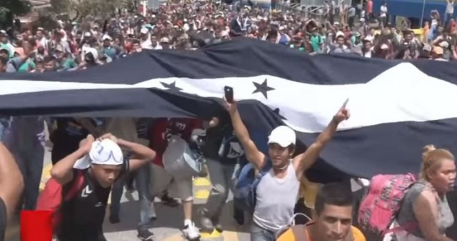 Migrant Caravan Grows Much Bigger- It's An INVASION
