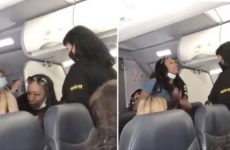 "Watch As Obnoxious Black Woman Refuses To Move For White Flight Attendant… Shouts In Face Of White Passenger: ""Wake Up, It's 2020!… You Don't Have White Privilege Over Me"""