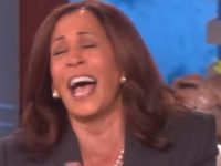 Watch As Kamala Harris Laughs Hysterically After Joking About Killing President Trump