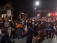 WAR: Unhinged BLM Mob Demands White People Move Out Of Homes And Give Them To Black People [VIDEO]