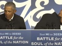Internet Erupts After Obama's MIC Goes Out In The Middle Of Saying THIS At Biden Rally… You Can't Make This Up!