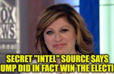 "BOMB VIDEO: Maria Bartiromo's Secret ""Intel"" Source Says ""Trump Did In Fact Win The Election""- Reveals THIS Scotus Bombshell"