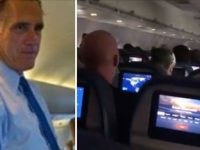 "BOOM! Watch As Mitt Romney Gets On Plane For Flight To DC- Gets Completely TRASHED By Patriots On Their Way To ""Stop The Steal"" Rally"