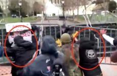 Internet ERUPTS After Video Surfaces Showing ANTIFA Terrorists Storming Capitol Disguised As Trump Supporters- Did You Catch It?