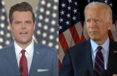 WHOA: Gaetz Reveals What Biden Is Going To Do To Trump Supporters- It's Straight HITLERESQUE