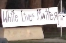 'White Lives Matter' Banner TORN DOWN In THIS State While BLM Banners Fly Rampant And Rioting/Looting Is Promoted