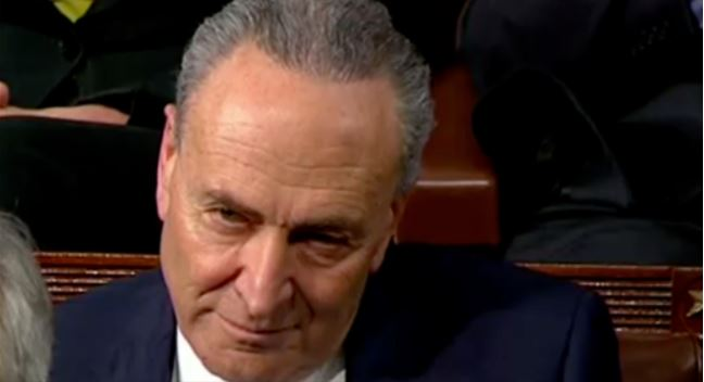Chuckles Schumer ADMITS IT, He's Not Even Trying To Cover It Up Anymore
