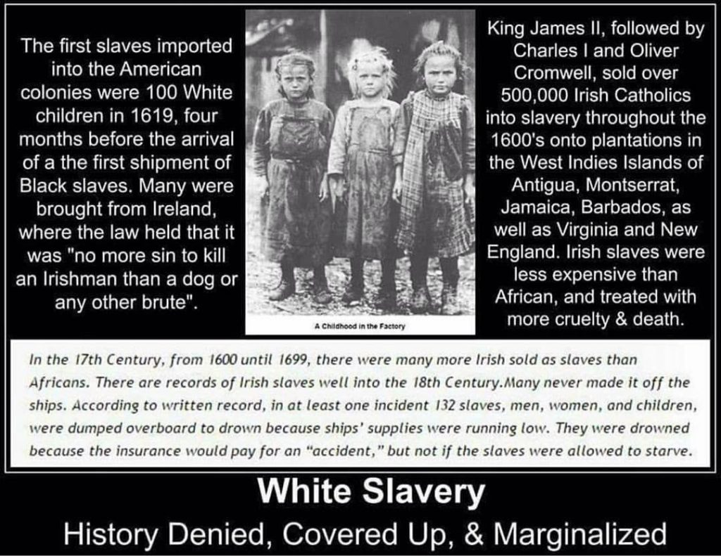 White Slavery In Early America