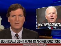 WATCH As Tucker Breaks Down What Happened At Biden's Press Conference Then Absolutely DESTROYS Him Live On National T.V.