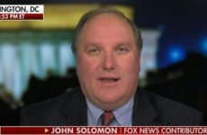 BREAKING News From Hotshot Reporter John Solomon- HE HAS THE BOMBSHELL