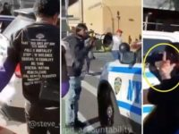 Watch As 3 Hate Filled Thugs, SCREAM THIS At Cops While Dragging And Stepping All Over Old Glory