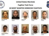 BREAKING: U.S. Marshals Announce Rewards for 10 'Most Wanted' Homicide Fugitives