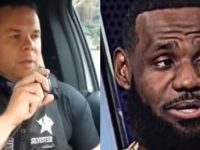 """MUST WATCH: Police Officer Posts Hilarious Video Mocking Cop Hating-RACIST BLACK LeBron James- """"The King"""" Is PISSED"""