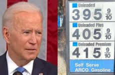 "WATCH As East Coast Sees Long Gas Lines And Stations With No Gas- Biden Says ""There's No Issue"" And Calls A LID At 3:34 PM-What A Joke"