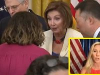 """WATCH: Rep. Marjorie Taylor Greene Responds To """"Mentally Ill"""" Hypocrite Nancy Pelosi After She Was Caught On Video In White House With Room Full Of People Without Masks"""